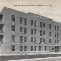 New St. Clare Hospital in Monroe