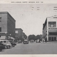 Looking North on 16th Avenue in Monroe