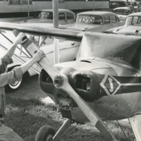 David Peterson Starts Airplane for Sale