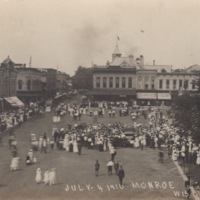 Independence Day on the Square, 1916 - Alternate Crowd View