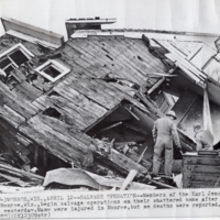 Destroyed Home of the Karl Jensen Family