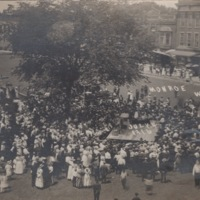 Independence Day on the Square, 1916 - Crowd View