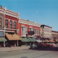 East Side of the Square in Monroe, Wisconsin