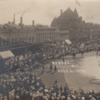 Independence Day on the Square, 1916 - Water Fight Aftermath